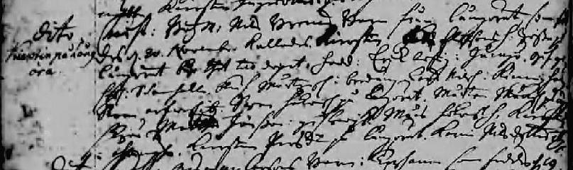 Kierstin född 1721-11-20 på Långöra i Torhamns socken