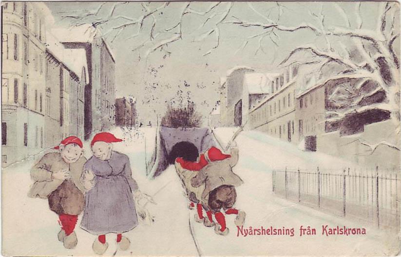 Nyår i Karlskrona